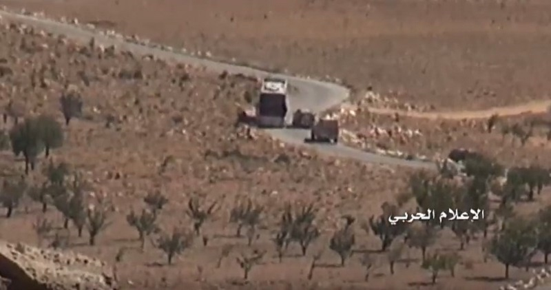 Buses Arrive To Withdraw Hayat Tahrir al-Sham Militants From Arsal Area To Idlib Province (Video)
