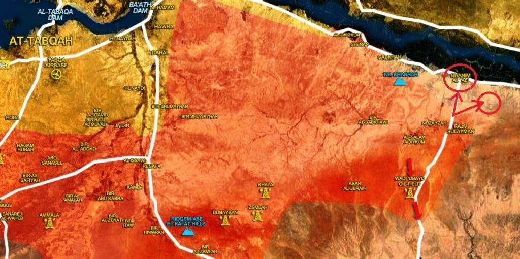 Army, Allies Liberated Ghanim al-Ali, Drive ISIS Out From More Area On Bank Of Euphrates