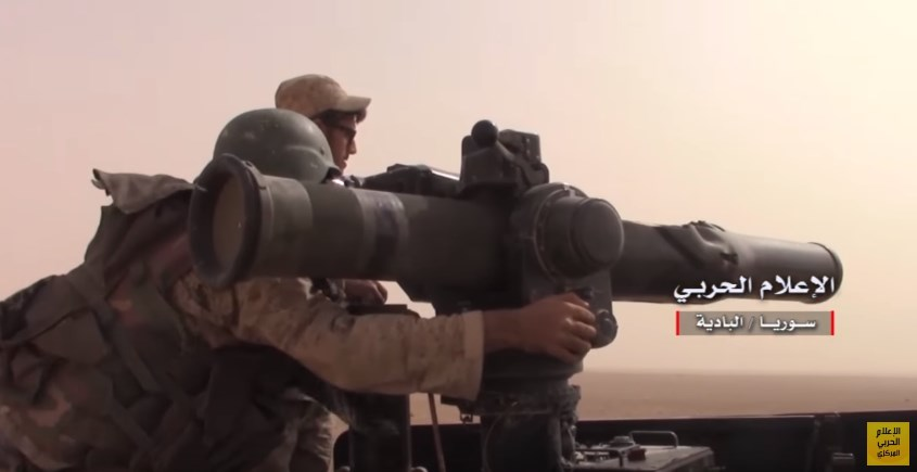 Video: Government Forces Advancing Against ISIS Near T2 Pumping Station In Southeastern Syria