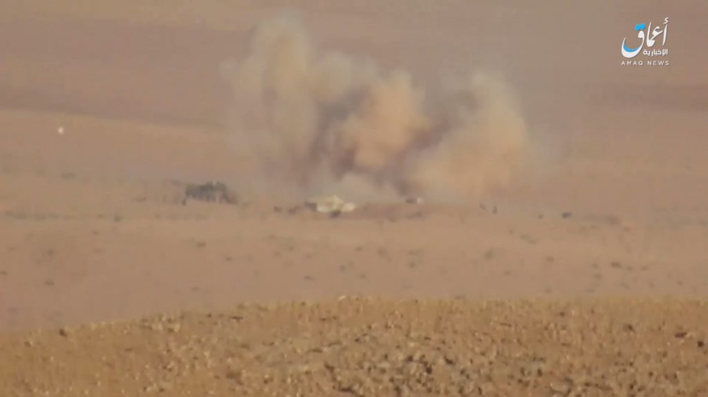 Heavy Clashes Between Syrian Army And ISIS On Multiple Fronts In Homs And Raqqa Provinces (Photos)