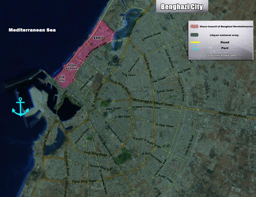 Military Situation In Libya's Bengazi (Map Update)