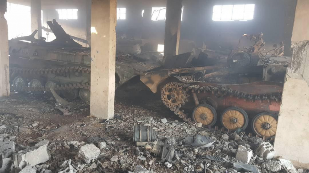 Headquarters Of Hay'at Tahrir al-Sham And Its Allies Destroied By IED Attack In Daraa