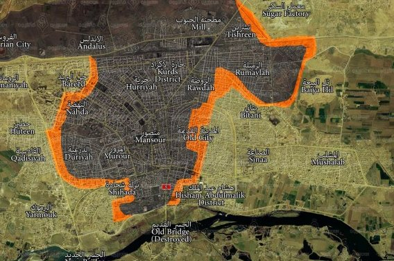 Syrian Democratic Forces Captured Half Of Raqqa City (Photos, Map)