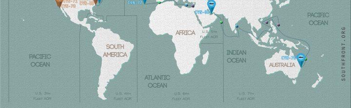 US CSG Locations Maps - Us navy fleet locations map