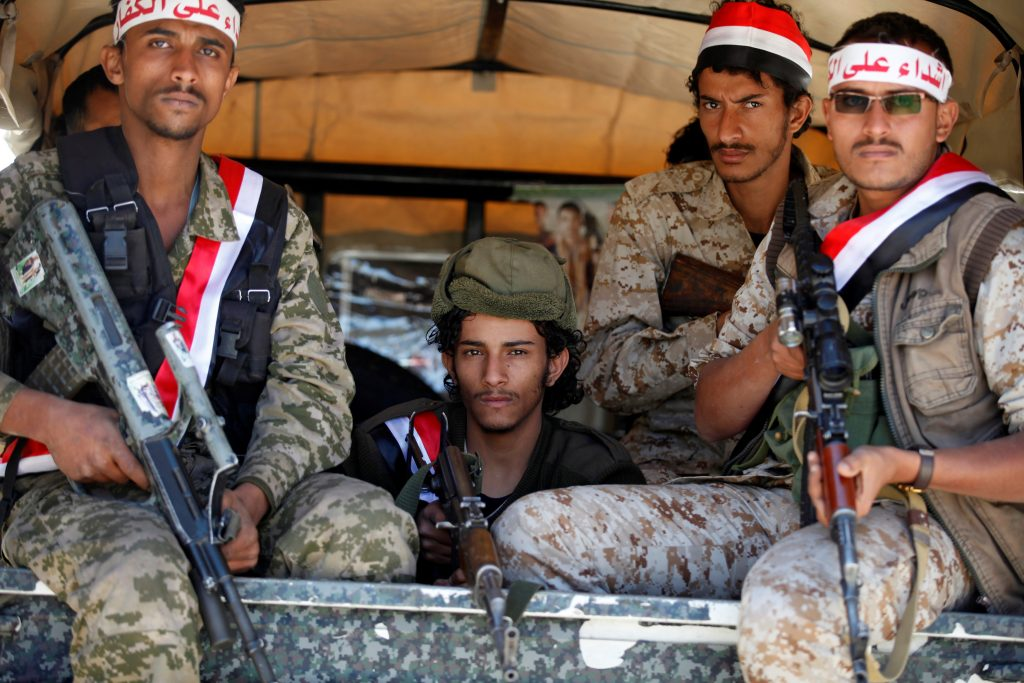 Houthis Attack Pro-Hadi Forces In Sana'a and Al-Jawf