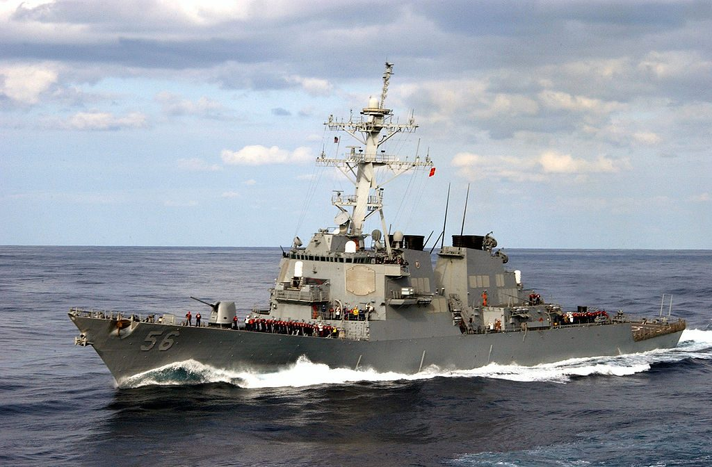 Trump Sends USS John McCain Destroyer To South China Sea In Attempt To Challenge China's Claims