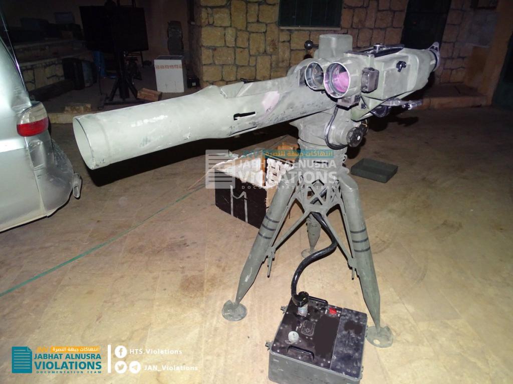 Hay'at Tahrir al-Sham Captures TOW Missile Depot Of Nour al-Din al-Zenki Movement