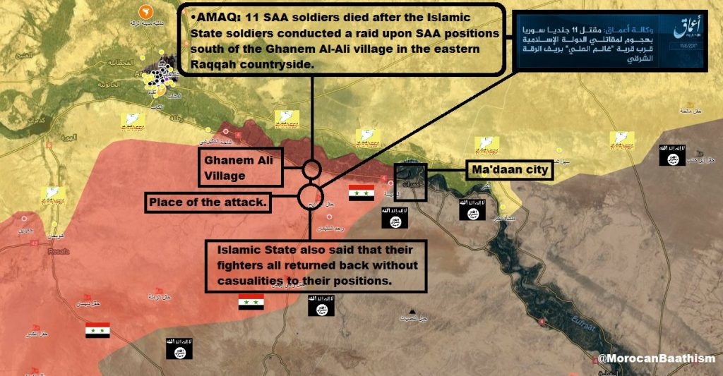 11 Army Soldiers Reported Killed In ISIS Raid In Southern Raqqah