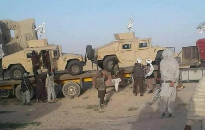 Afghanistan: Taliban Seizes Jani Khel District In Paktia, Claims Killing Of 4 US Soldiers In Parwan