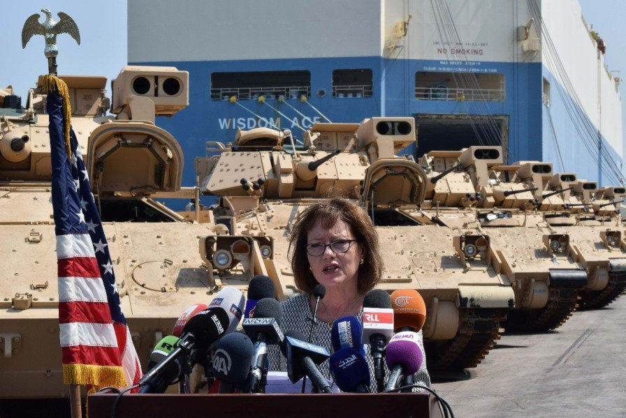 US Boosts Military Aid To Lebanese Armed Forces