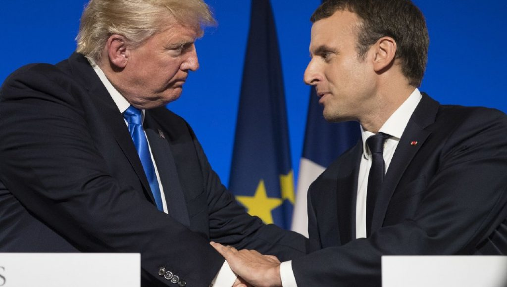 Trump Tells French President US Is Ready For Military Measures Against North Korea