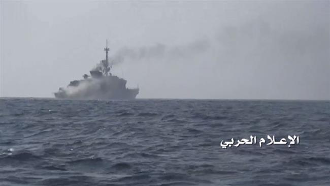Yemeni Forces Anti-Ship Guided Missile At Another Saudi Alliance Warship At Al-Mukha Port - Report