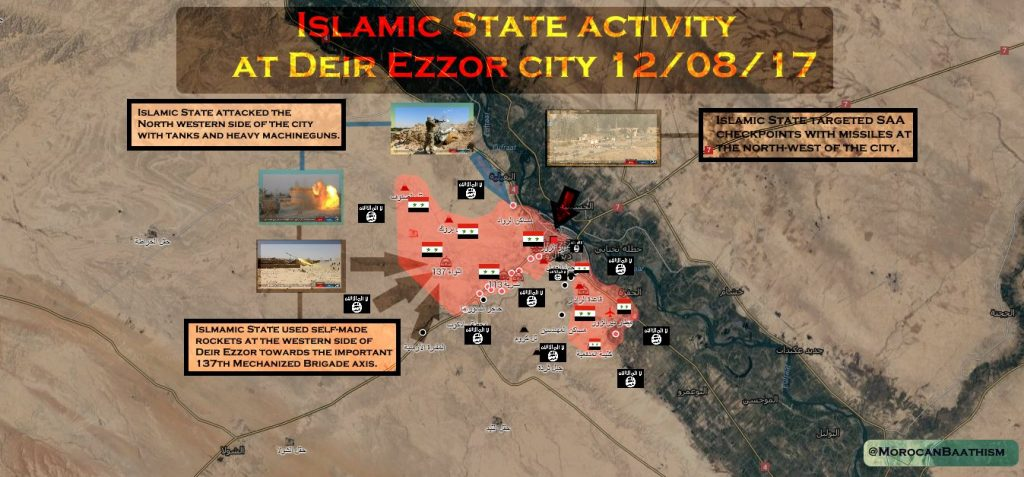 ISIS Attempts To Pressure Republican Guard In Deir Ezzor City, Gains No Ground