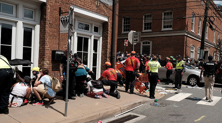 1 Dead, 26 Injured, After Car Plows Through Crowd Of Protesters In Charlottesville