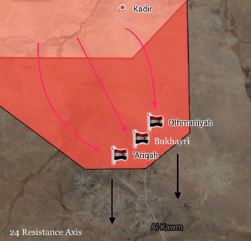 Tiger Forces Enter Kawm Oasis In Northern Part Of Homs Province (Map Update)
