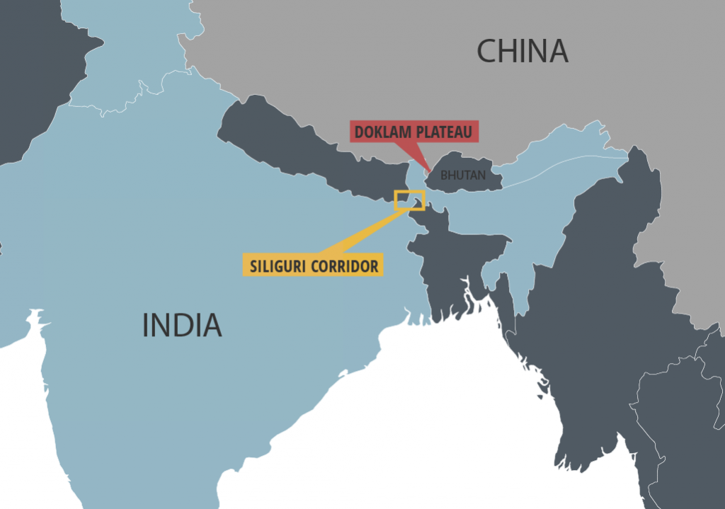 Doklam Plateau As A Stage Of Global Standoff