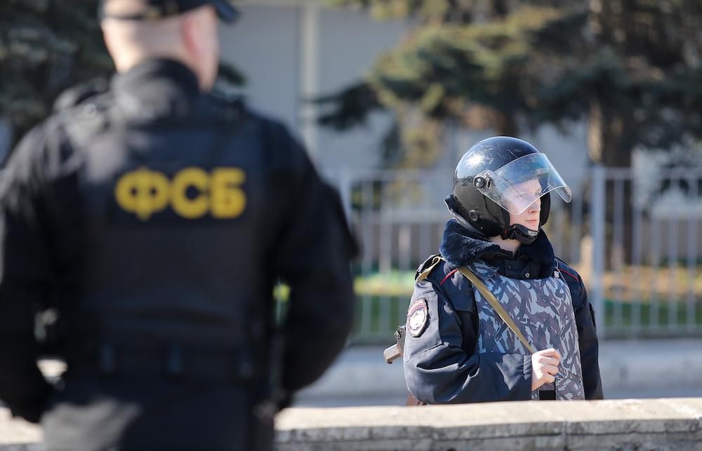 Russia Detaines Officer Of Security Service of Ukraine Planning Terrorist Attacks In Crimea
