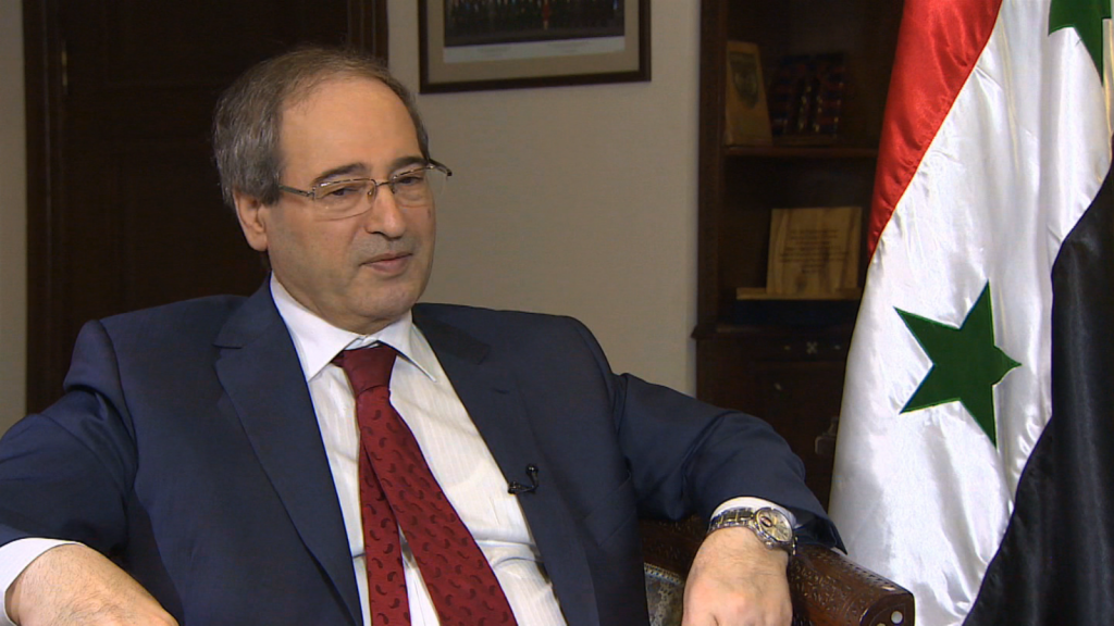 Syrian Deputy Foreign Ministe: US And UK Supplied Terrorists With Chemical Weapons