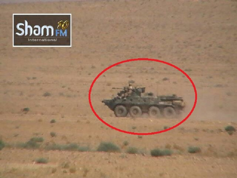 Russian Military Advisers, Iranian Islamic Revolutionary Guard Corps Assist Syrian Army Advancing Against ISIS North Of Jabal Shaer In Homs Province (Photos)