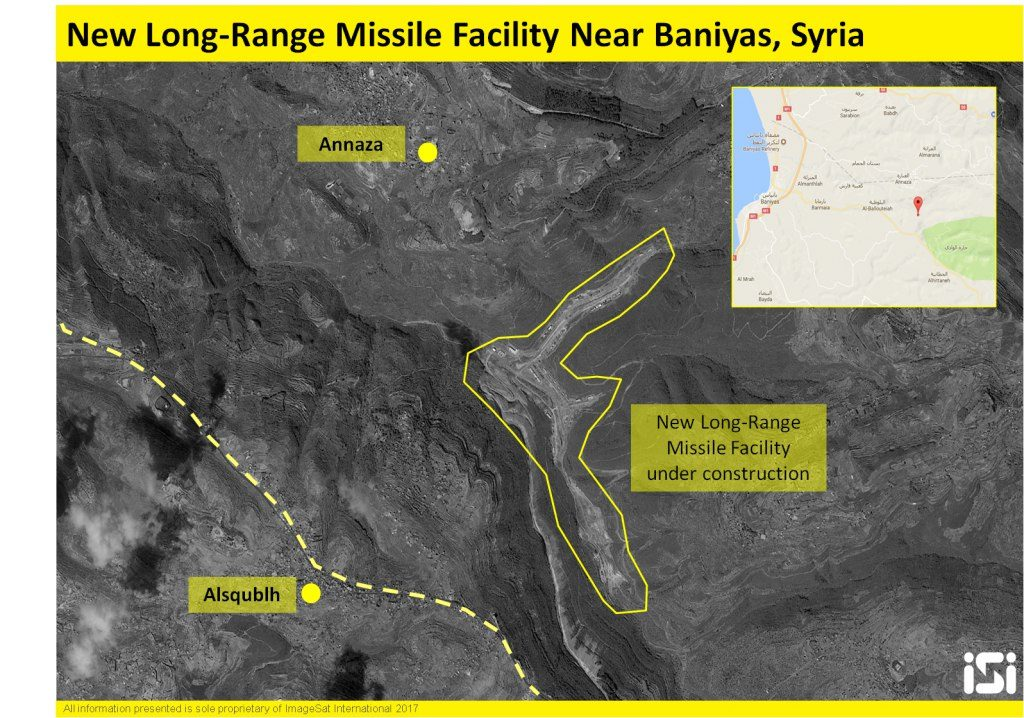 Iran Builds New Long-Range Missile Facility In Syria - Report