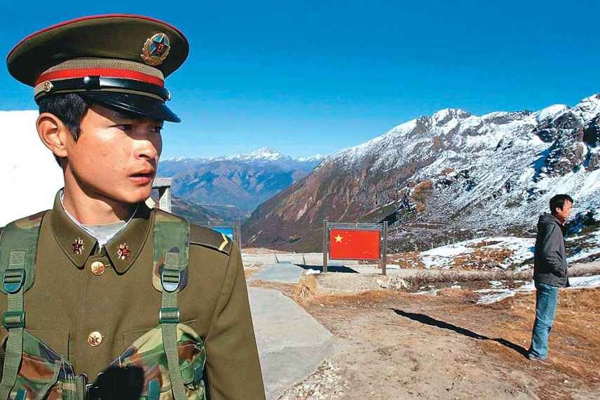 Chinese And Indian Soldiers Clash With Sticks And Stones In Contested Border Area