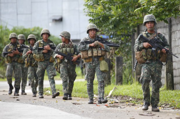 Philippine Army: Less Than 40 Terrorists Remain in Marawi City