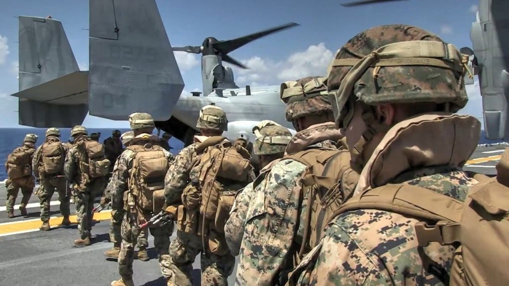 The United States Marine Corps: Power Projection on a Global Scale