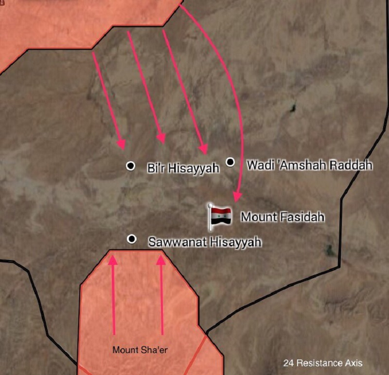 Syrian Army Cuts Off Isis Supply Line To Isis Stronghold Of Uqayrabat Maps