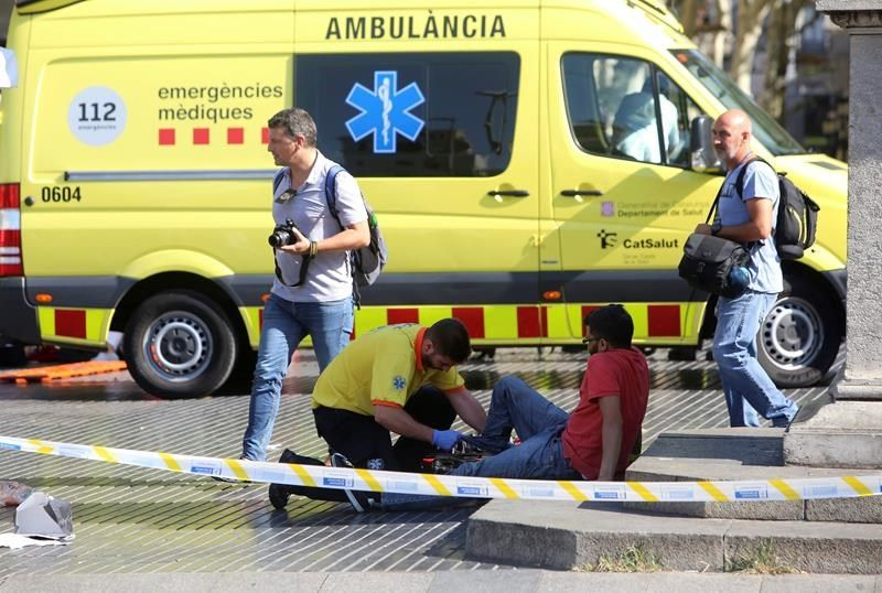 At Least 13 Killed, 50 Injured In Barcelona Van Attack. ISIS Claimed Responsibility