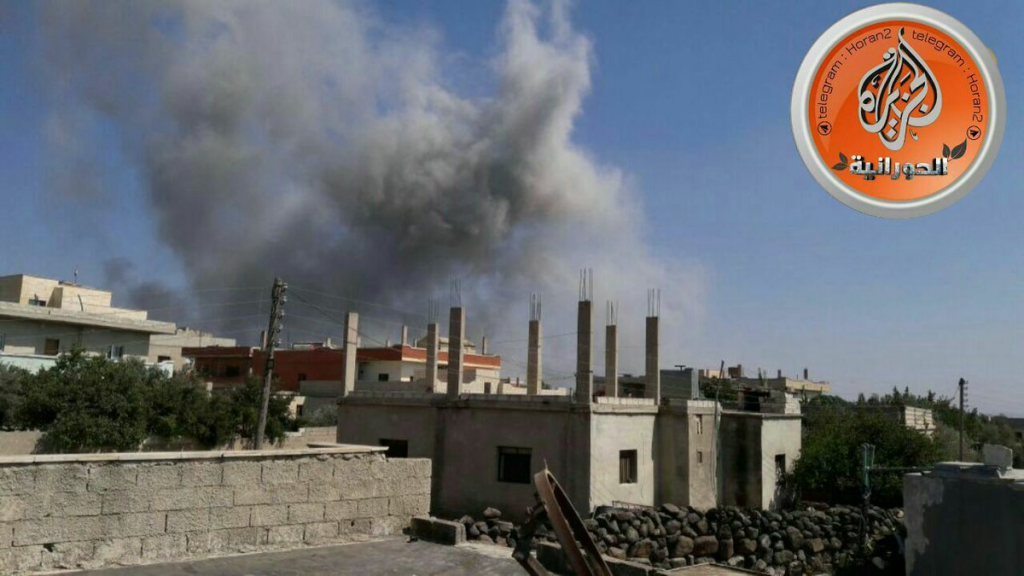 US-led Collation conduct Airstrikes on ISIS Positions in Daraa