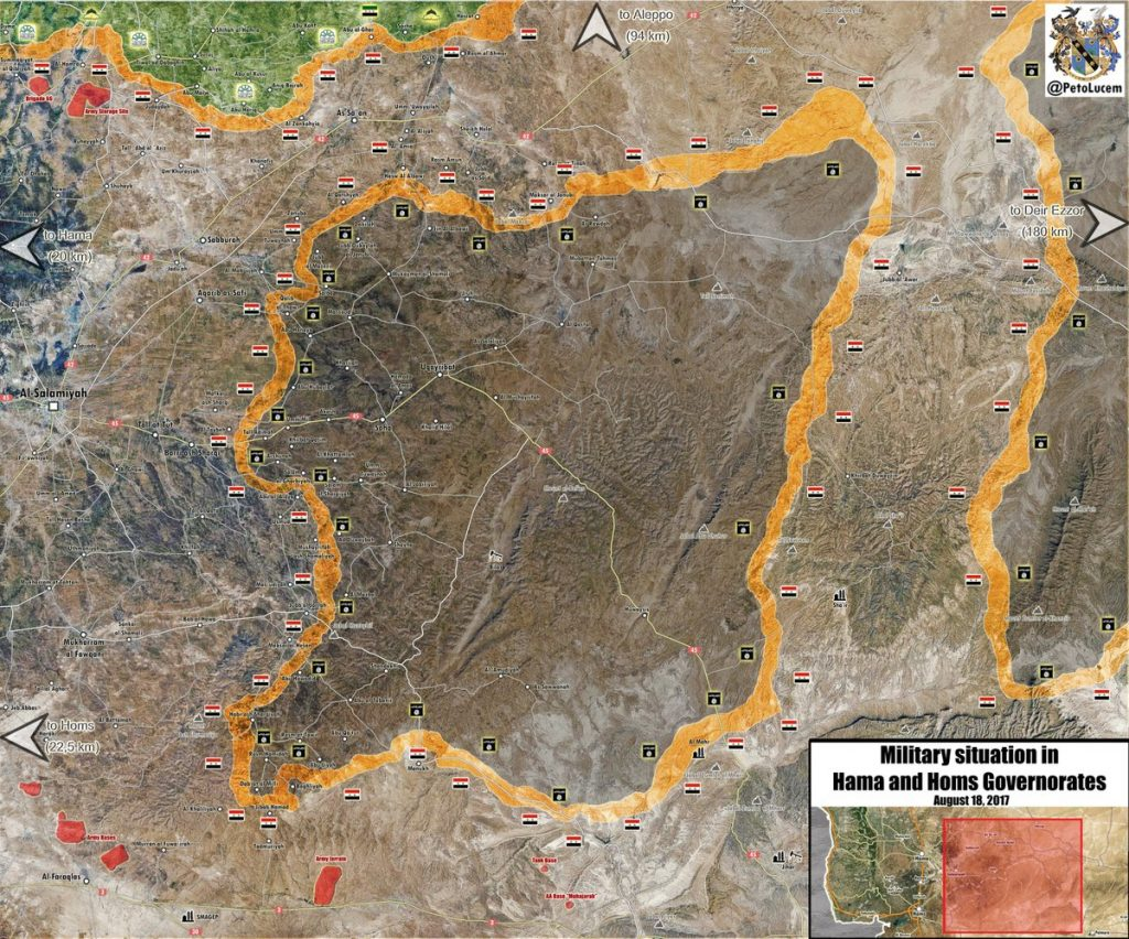 Map Update: Military Situation In Uqayrabat Pocket