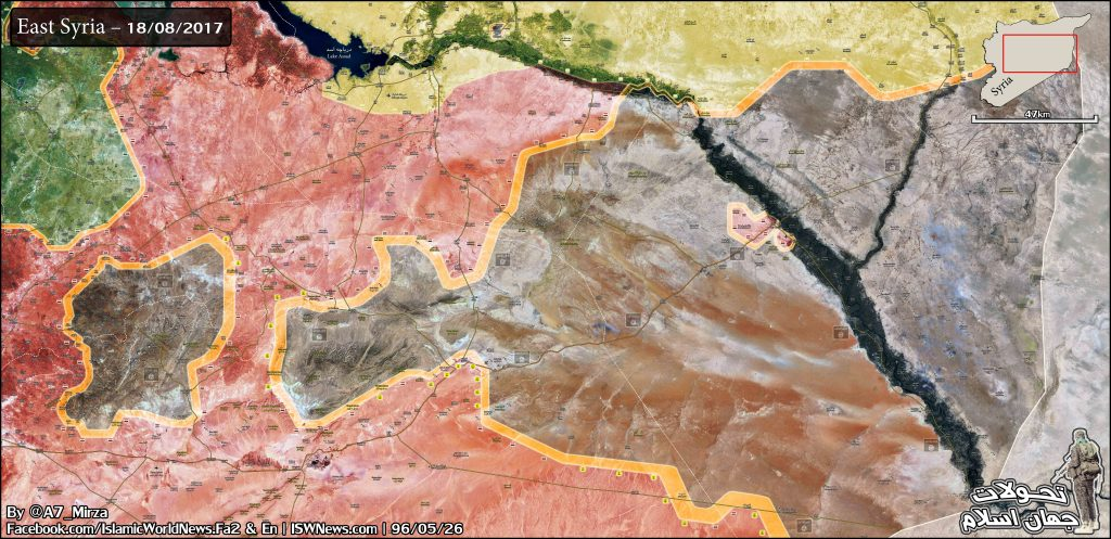 Government Forces Further Pressuring On ISIS, Seeking To Create Another Pocket In Homs Province