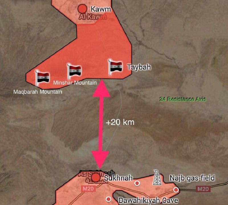 Syrian Forces Are About To Create Second ISIS Pocket In Homs Province (Map)
