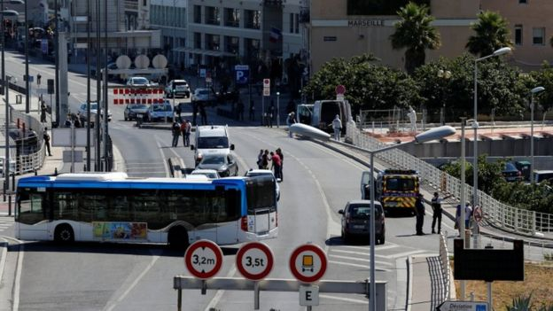At Least One Person Killed As Van Crashes Into Bus Shelters French City Of Marseille