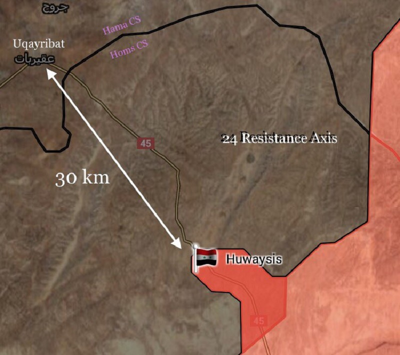 Syrian Army Makes Another Important Advance Against ISIS, Liberates Huwaysis (Map)