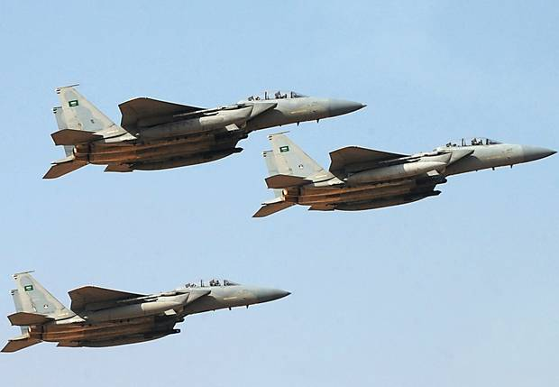 Saudi-led Coalition Warplanes Accidenially Bomb Allied Fighters In Yemen's Marib Province - Reports