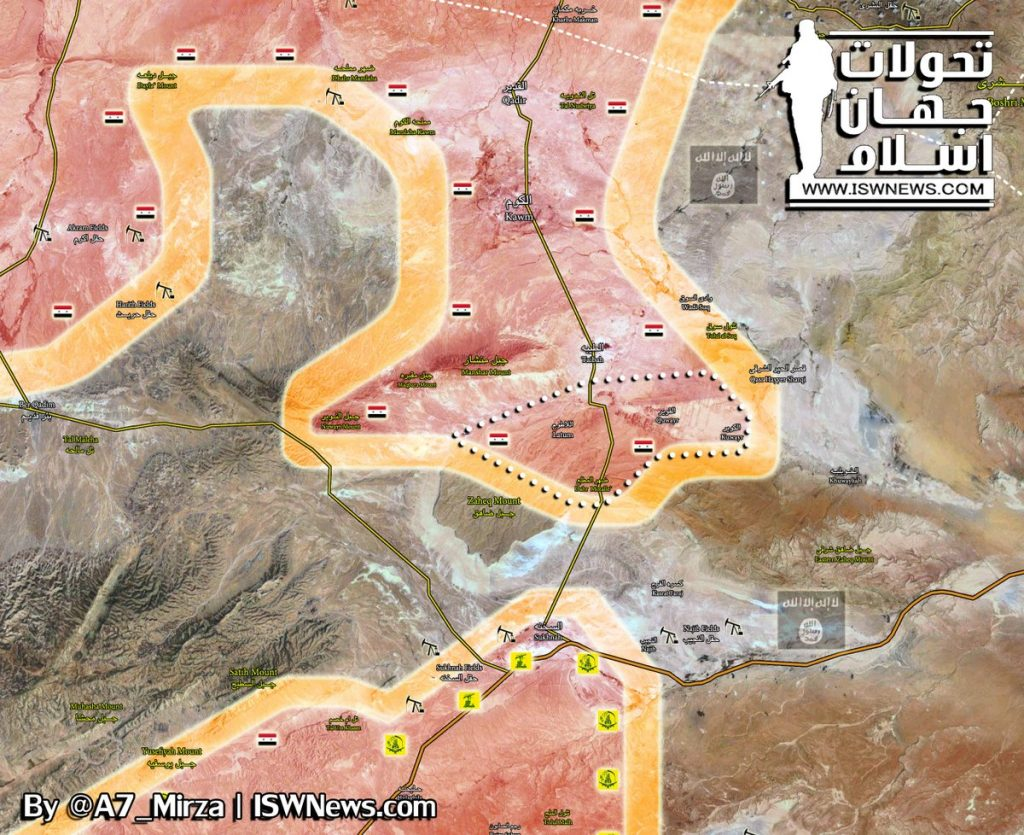 Tiger Forces Make More Gains Against ISIS South Of Taybah. ISIS Is On Run (Map)