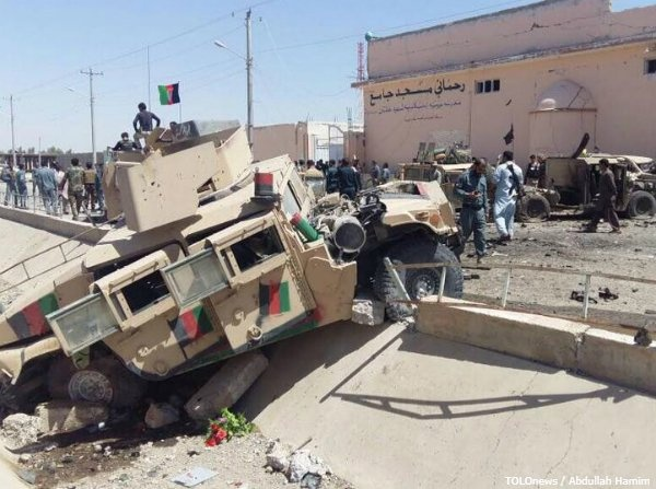 Taliban Suicide Bomber Hits Afghan Military Convoy, 7 Soldiers Killed