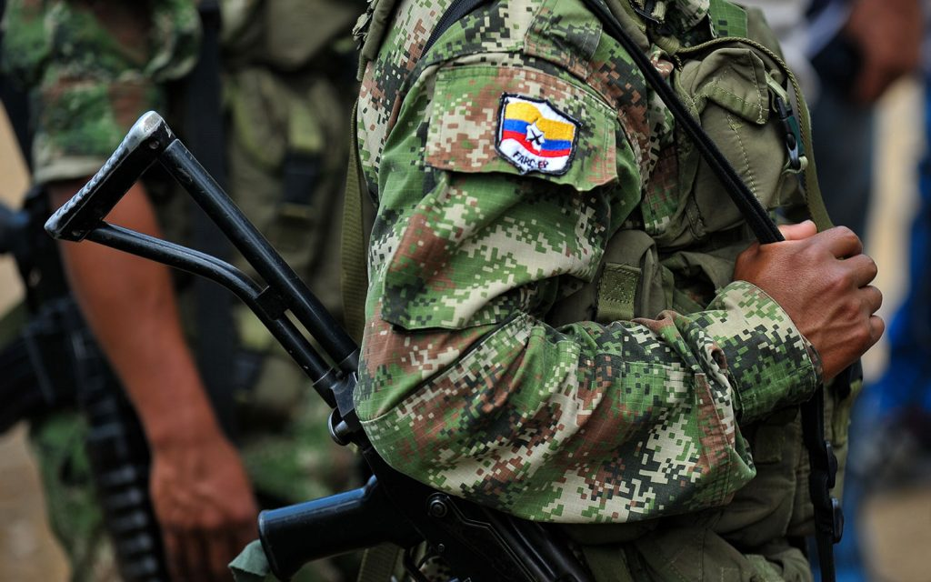 Implementation of the Colombian Peace Agreement: 'Post-FARC Zones'