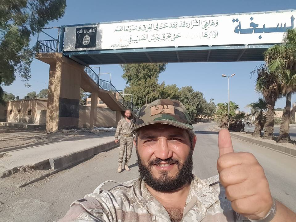 Photos: Government Troops In Recently Liberated Sabkah Area In Southern Raqqah Countryside