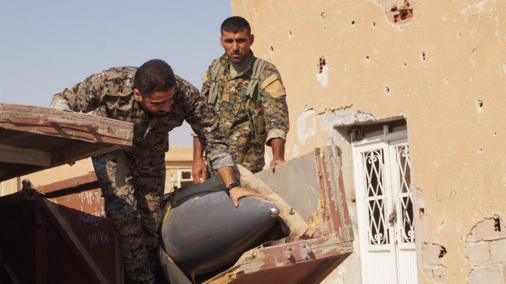 Syrian Democratic Forces Repel ISIS Attack In Western Part of Raqqa City