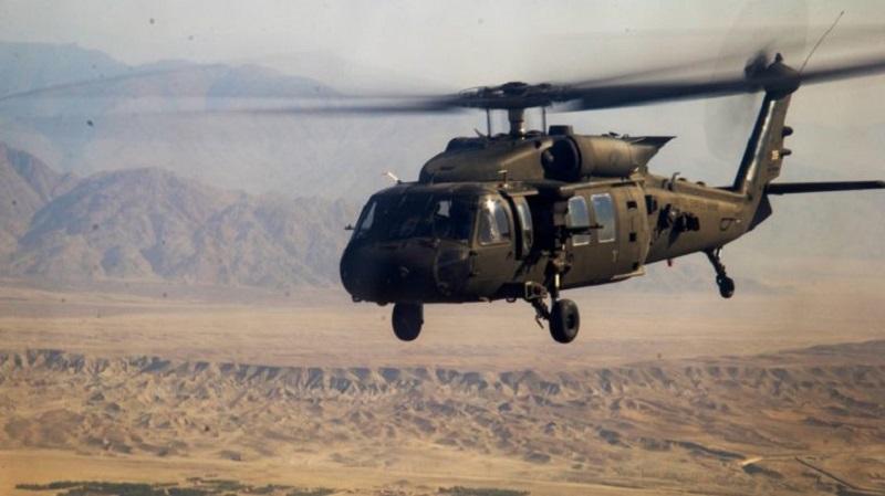 US Army Black Hawk Helicopter Crashed Off Yemeni Coast