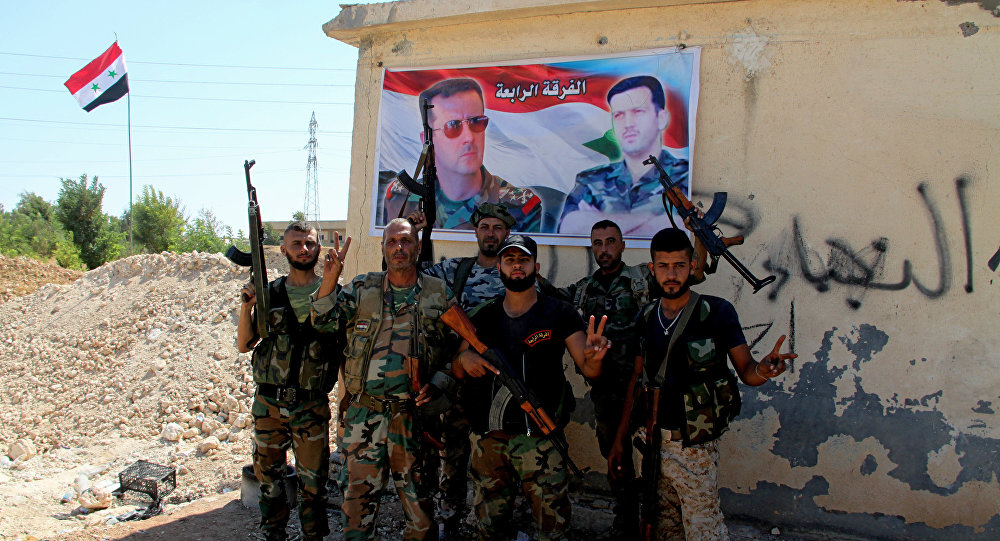 Syrian Government Forces Developing Momentum In Border Area With Jordan