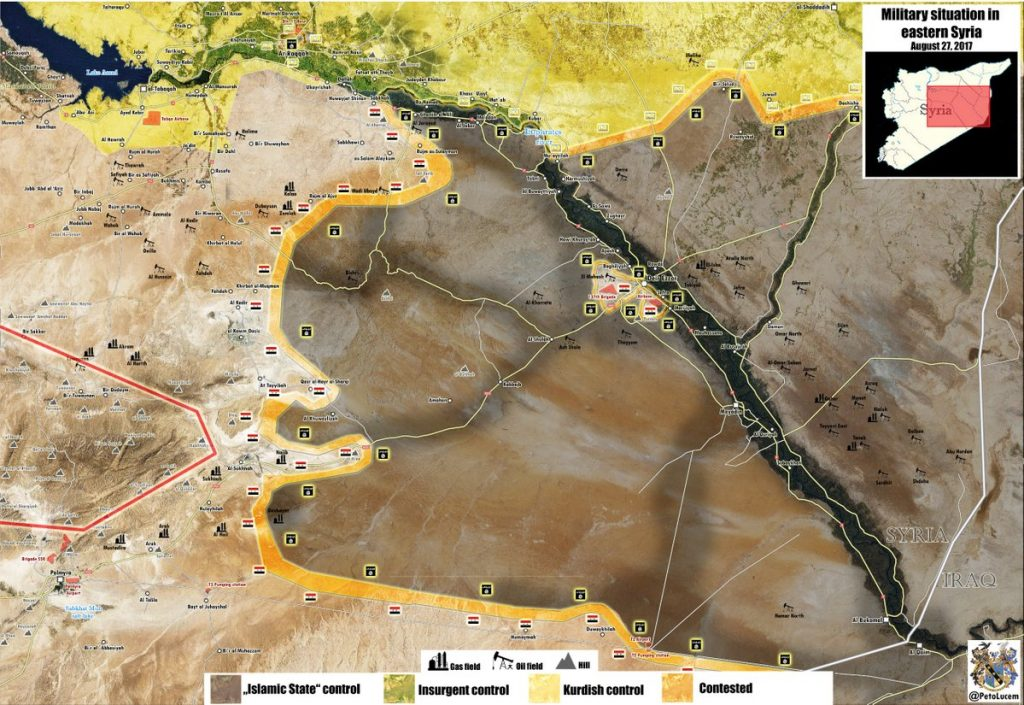 Govt Forces, Russian Warplanes Eliminate 800 ISIS Fighters And High Number Of Equipment In Euphrates River Valley