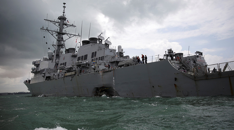 US Navy Recovered Remains Of 10 Sailors Killed In USS John S. McCain Collision