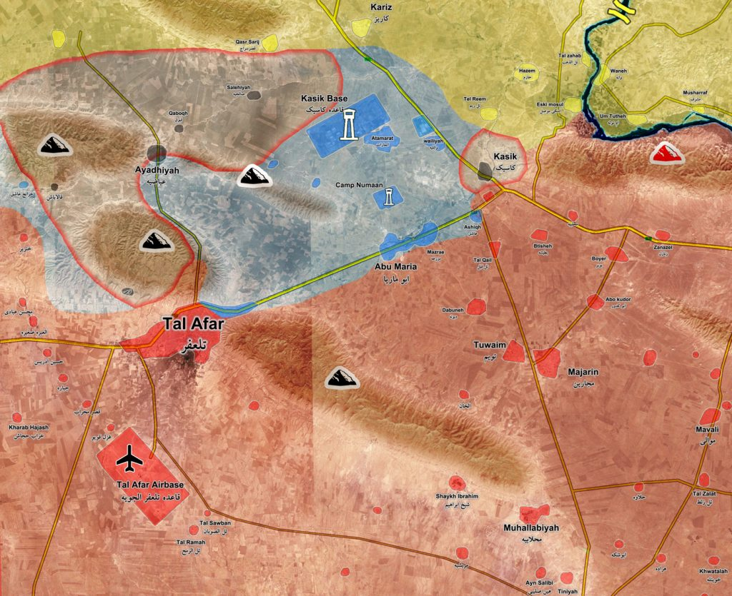 Iraqi Forces Are Close To Liberation Of Entire Tal Afar Area In Northern Nineveh
