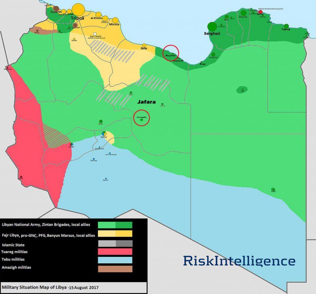 ISIS VBIED Attack Kills 12 LNA Fighters In Libya's Bin Jawad