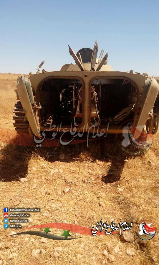 ISIS Kills 12 Fighters Of Liwa al-Quds In Eastern Hama Countryside