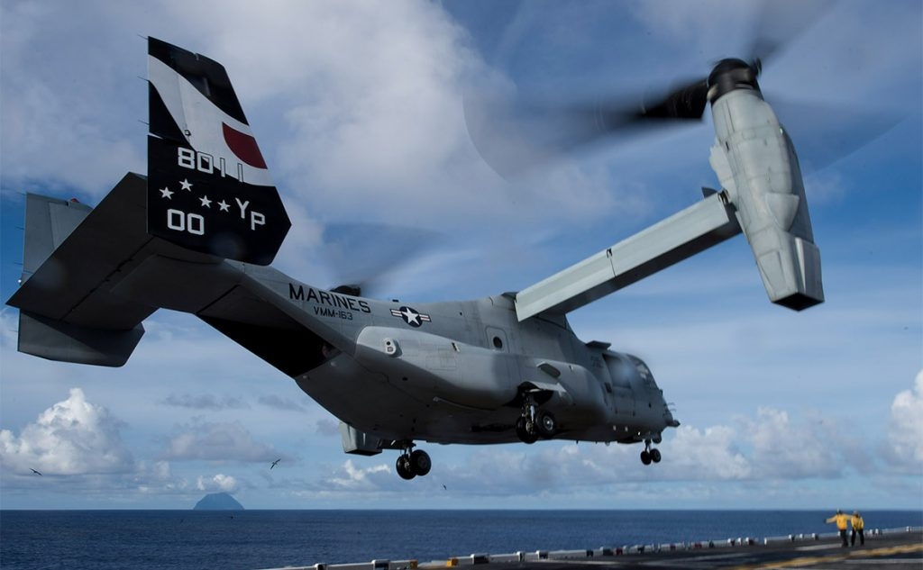 US Osprey Aircraft With 26 Servicemen Aboard Crashed Off East Coast Of Australia