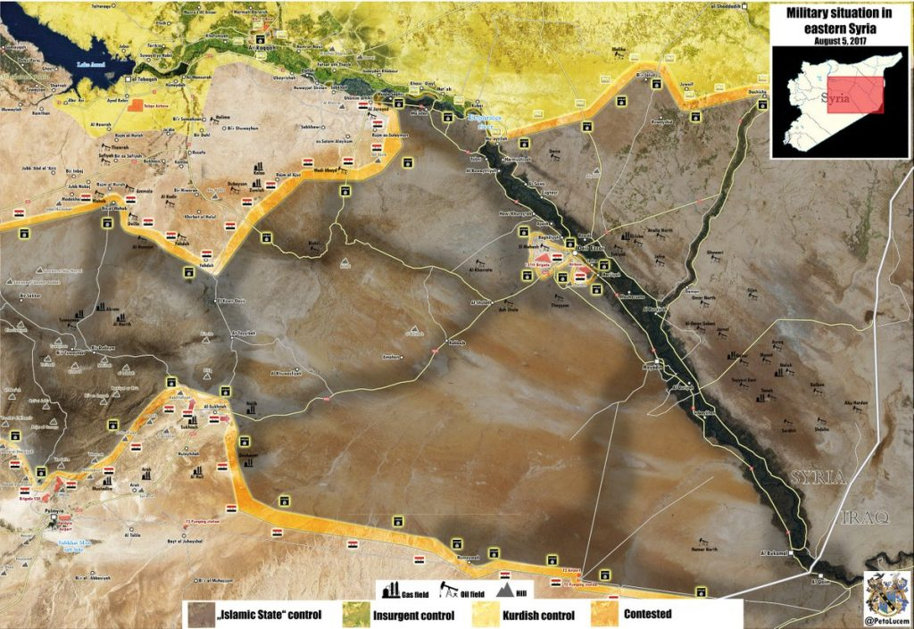 Syrian Army Reportedly Liberated Sukhna From ISIS, Started Securing Area
